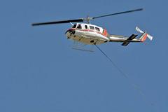 Heliqwest 1975 Bell 205A-1 c/n 30183 C-FHQB Rocky Mountain Metropolita