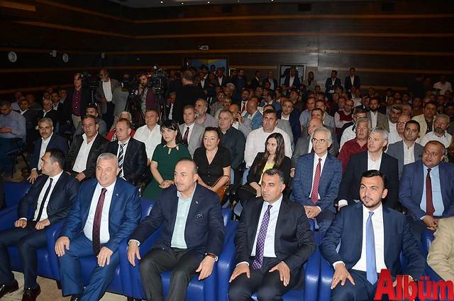 Dışişleri Bakanı Mevlüt Çavuşoğlu ALTSO'da