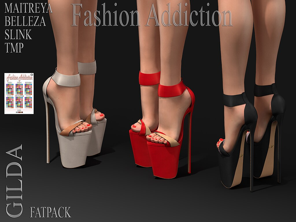 GILDA SHOES @ .Suicide DollZ.