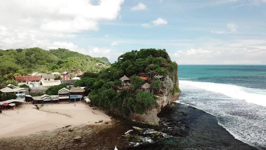 Bukit Karang Indrayanti Beach, Gunungkidul, Jogja