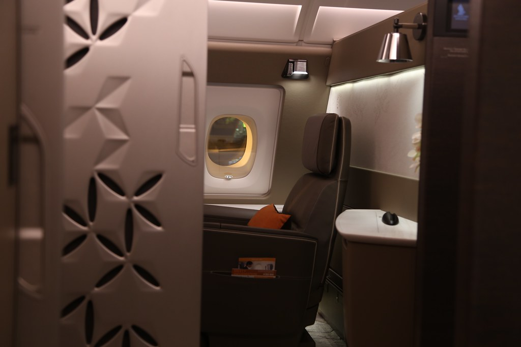 Singapore Airlines First Class Suites 49