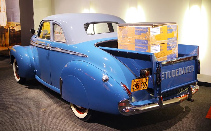 1941 Studebaker Coupé Delivery