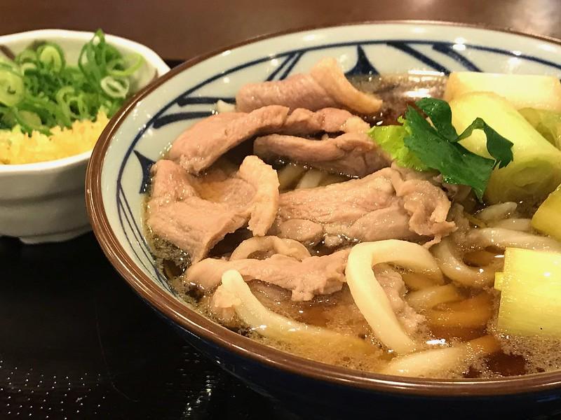 丸亀製麺の鴨ねぎうどん