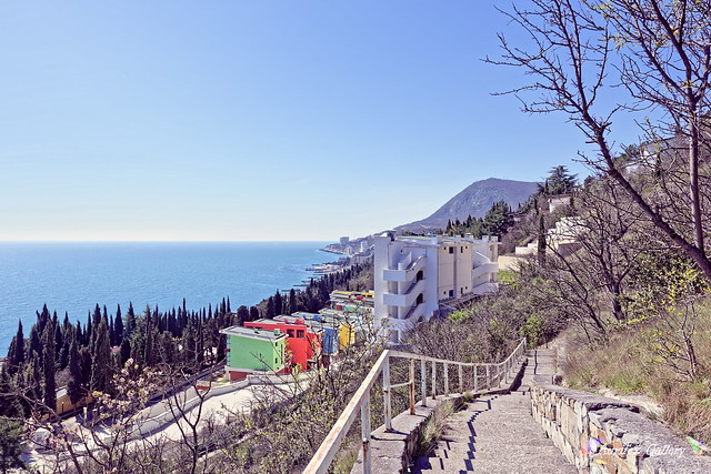 Crimean coast in Spring