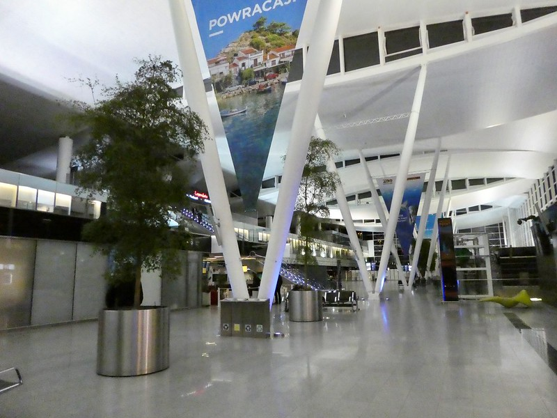 Arrivals Hall, Wroclaw Copernicus Airport