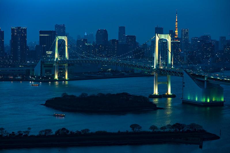 彩虹大橋|台場