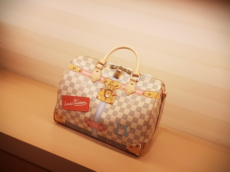 Louis Vuitton Summer Trunks Azur Speedy