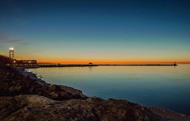 Sundown in Petoskey