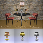Scripted Novelty Themed Table Lamps