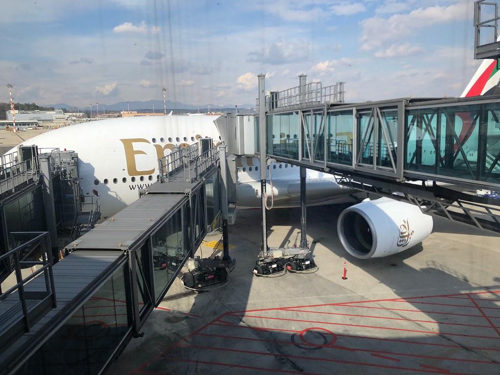 Emirates Lounge Milan MXP 62
