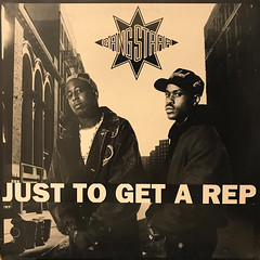 GANG STARR:JUST TO GET A REP(JACKET A)