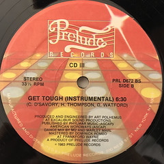 CD III:GET TOUGH(LABEL SIDE-B)