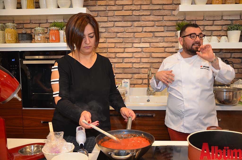Nilüfer Sadullahoğlu, Gastronomi Uzmanı Şef Çağrı Burak Sağlam