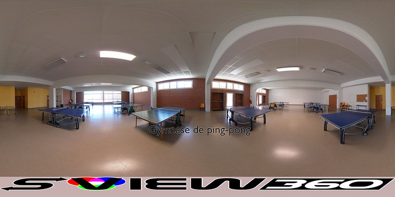 11 - Gymnase de ping-pong