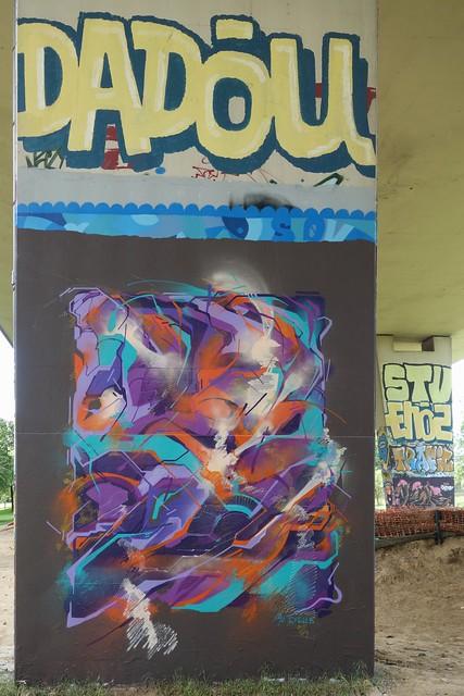 Eyes-B ... Graffiti/streetart at Neerpede (Belgium)