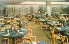 Hibiscus Tea Room Burdines Vintage Postcard