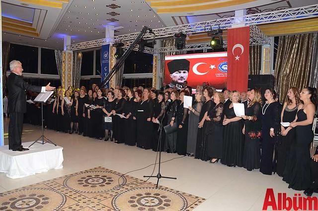 ÇYDD Türk Sanat Müziği Topluluğu Banana Beach Hotel konser -3