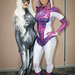 Black Cat and Spider-Gwen cosplay