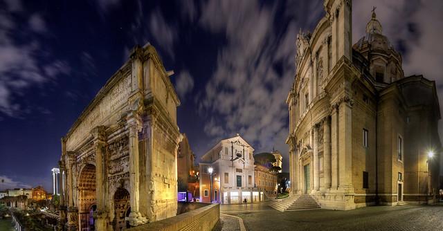 Pan_38274_38285_ETM1 / Mamertine Prison - Rome / Italy