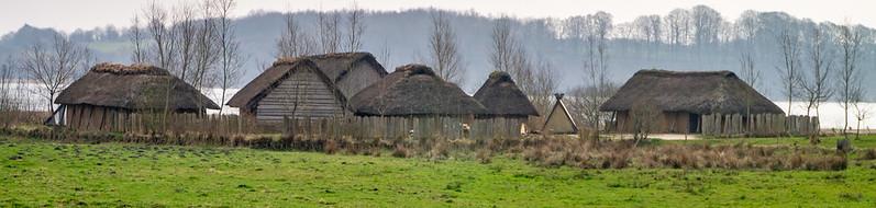 Wikingerhäuser (Rekonstruktionen)