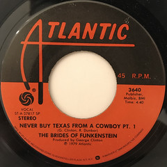 THE BRIDES OF FUNKENSTEIN:NEVER BUY TEXAS FROM A COWBOY(LABEL SIDE-A)
