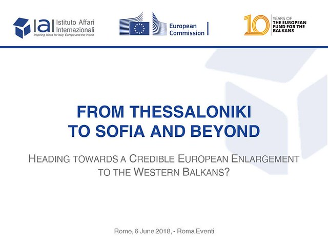 From Thessaloniki to Sofia and Beyond