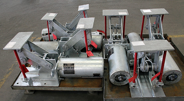 PT&P Designed and Fabricated Constant Spring Support Assemblies for an LNG Plant in Central Africa.