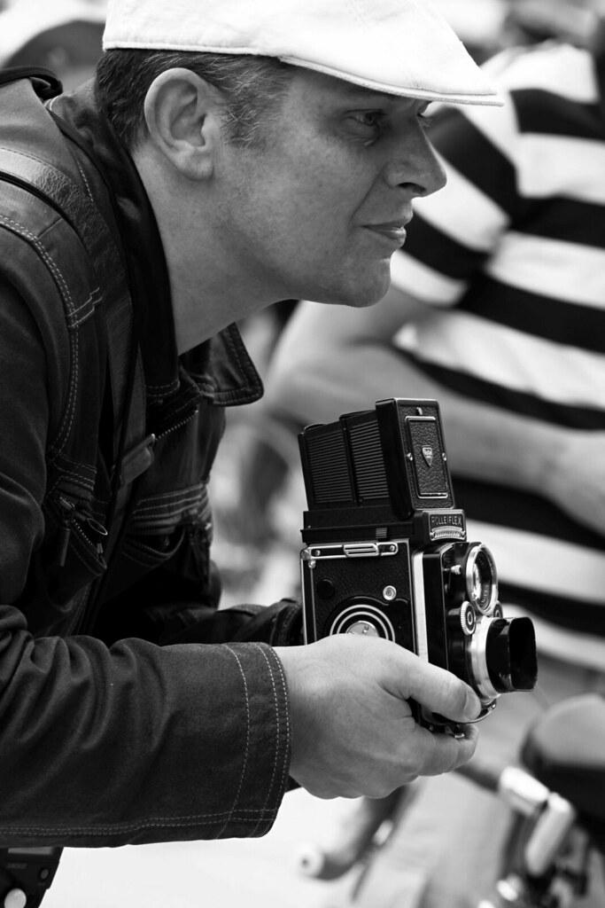 The retro photographer