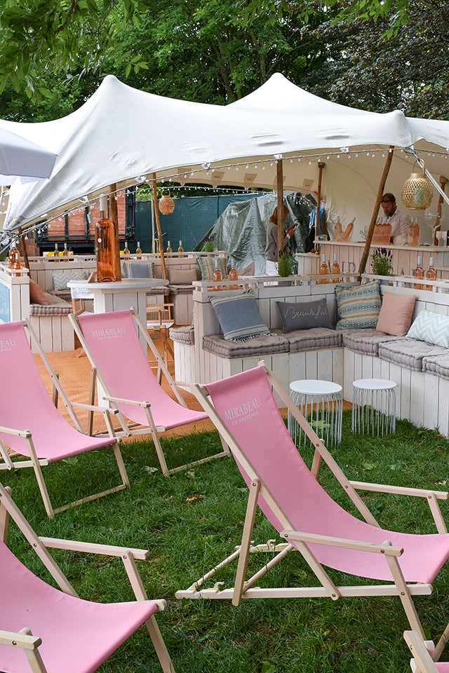Mirabeau Tent at Taste of London #tasteoflondon