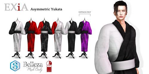 EXiA Asymmetric Yukata male