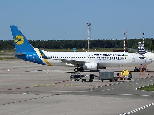 UR-PSS Boeing 737-8 Ukraine International Riga-Skulte 21-05-18