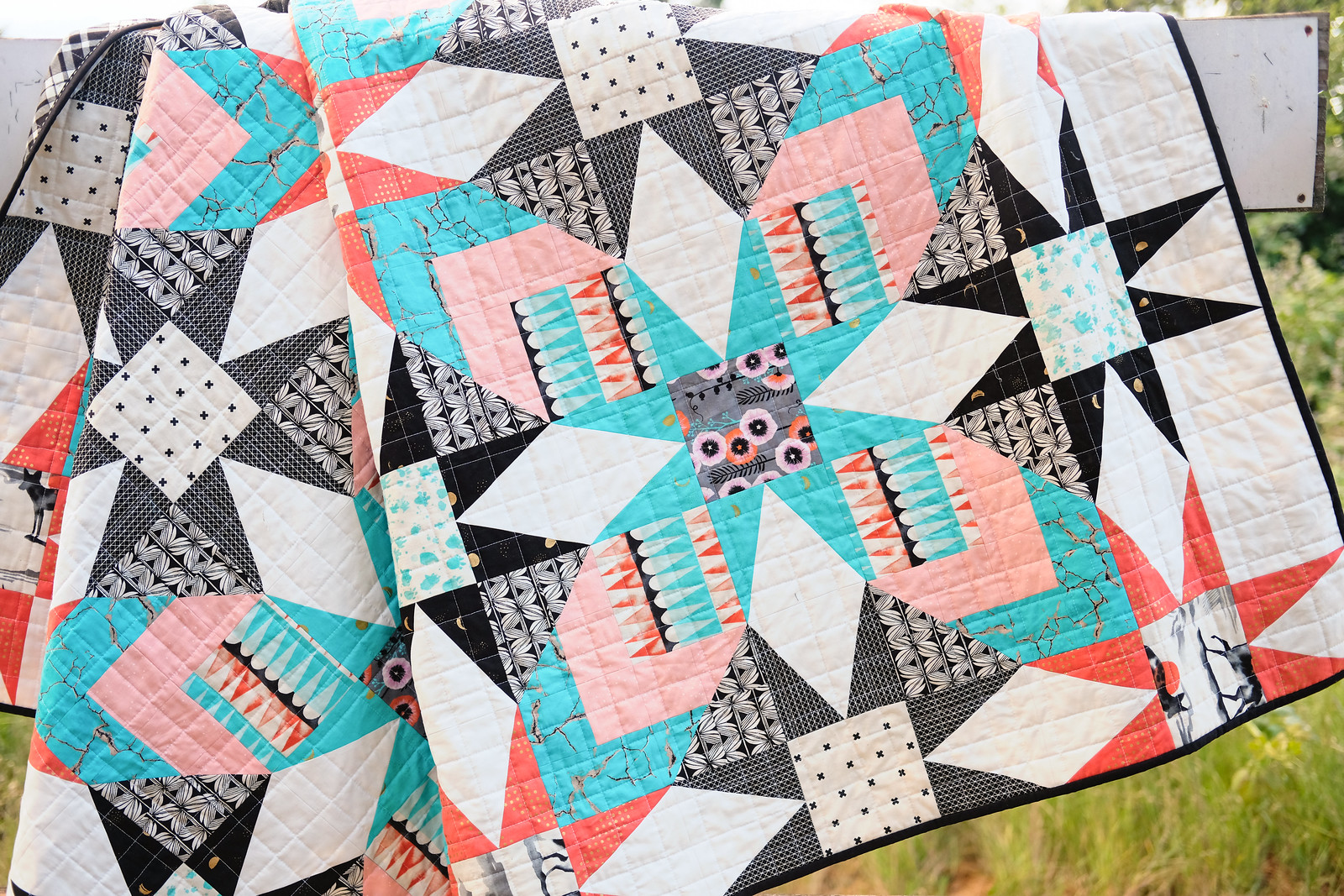 Santa Fe Quilt - Made with The Glenda Quilt Pattern by Kitchen Table Quilting