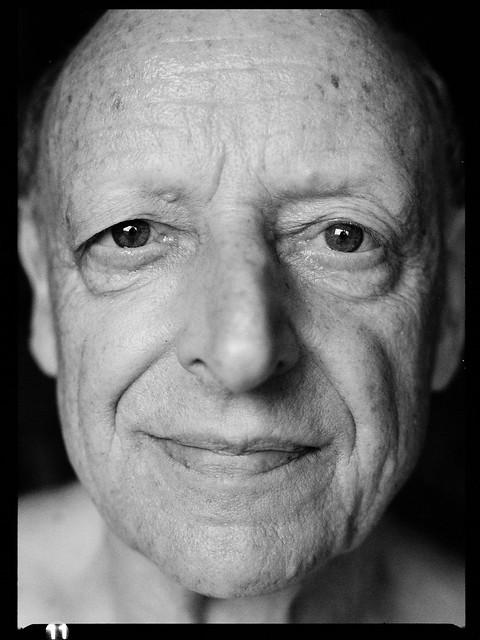 The Face (a medium format close-up portrait)