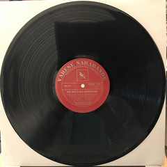 DANNY ELFMAN:PEE-WEE'S BIG ADVENTURE(RECORD SIDE-A)