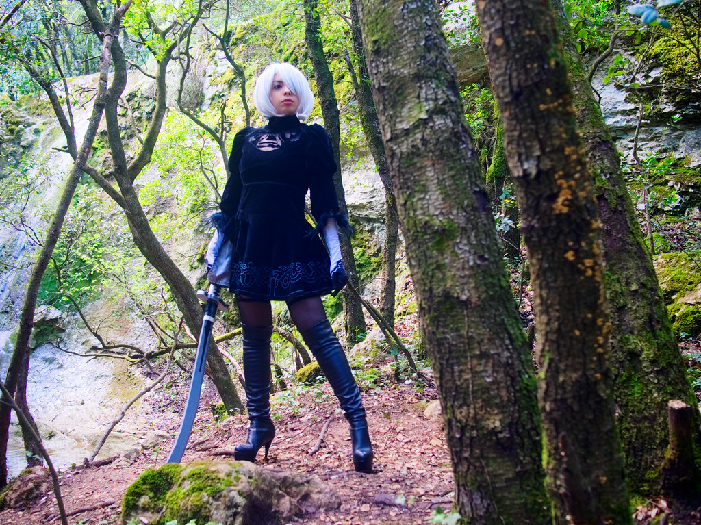 related image - Shooting Nier Automata - 2B - Kiro - Nans les Pins -2018-05-20- P1255491