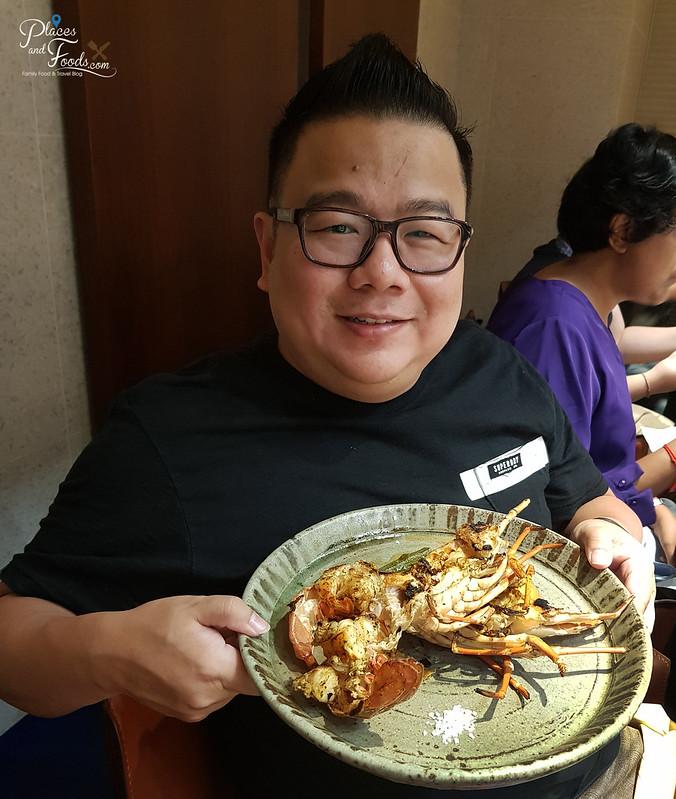 teppan by chef yonemura lobster