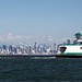 Ferry and Skyline by Jonathan Miske