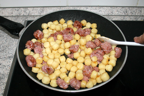 05 - Gnocchi anbraten / Fry gnocchi