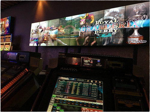 Playing the horses at the Montreal Casino