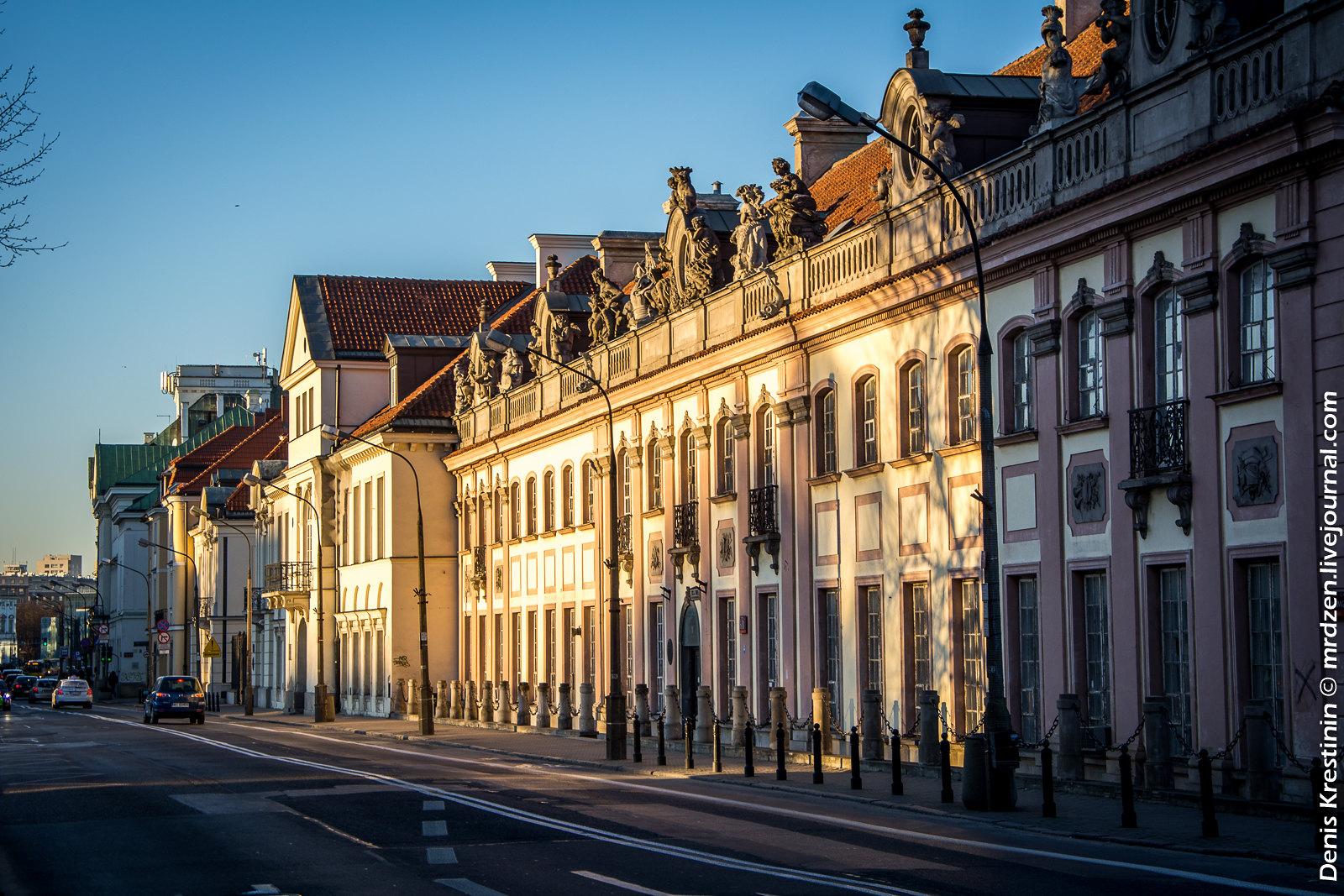 Варшава. Дворец Браницких.
