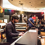 Tue, 06/03/2018 - 9:18pm - Producer, songwriter, guitarist Jonathan Wilson and his band perform for WFUV members at Electric Lady Studios in New York City. 3/6/18 Hosted by Rita Houston. Photo by Gus Philippas/WFUV