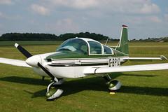 G-BPIZ American Aviation AA-5B (1154) Popham 080608