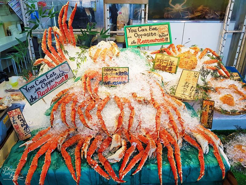 nijo market crabs