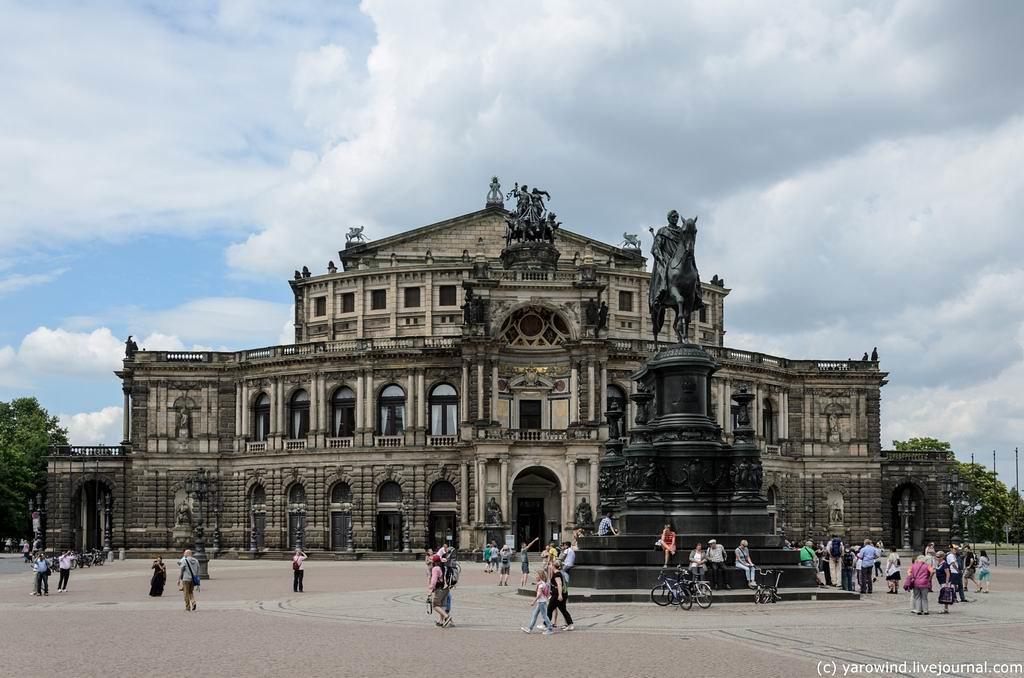 Дрезден - разрушенный и восстановленный