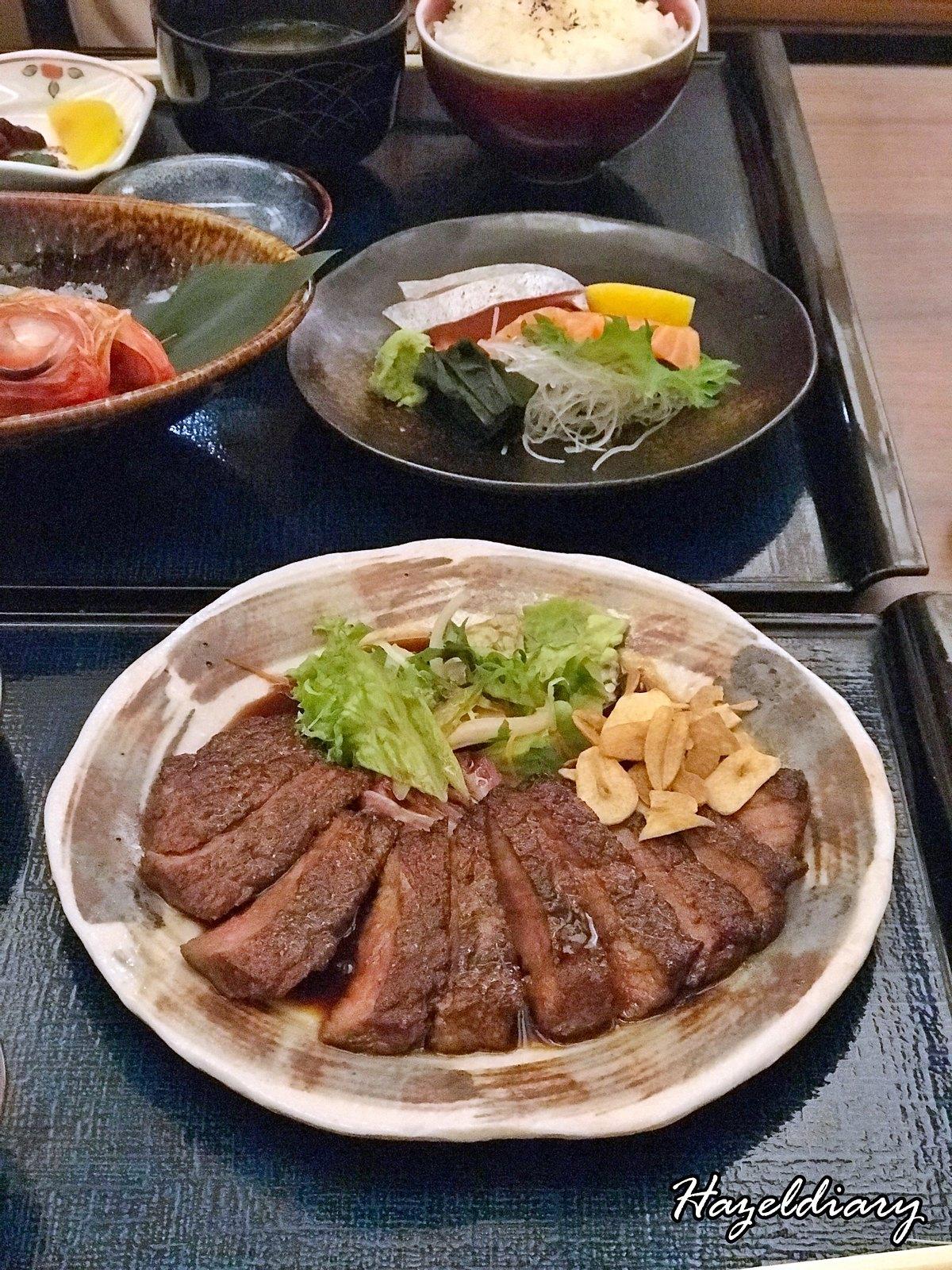 Mitsu Spring Menu-Wagyu Beef Steak