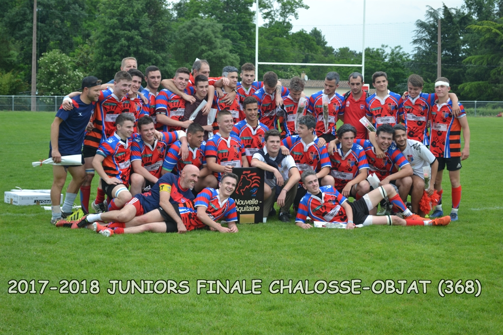 2017-2018 juniors finale chalosse-objat