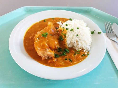 Chicken Tikka Massala & Basmati