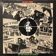 PUBLIC ENEMY:BLACK STEEL IN THE HOUR OF CHAOS(JACKET A)