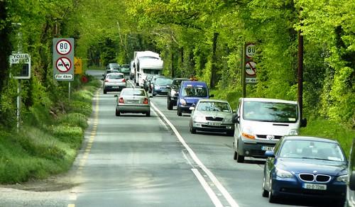 Busy Highways in Ireland
