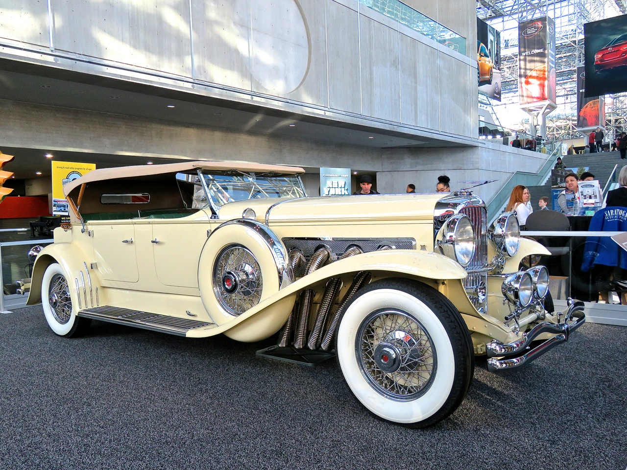 Duesenberg Model J at NYIAS 2018